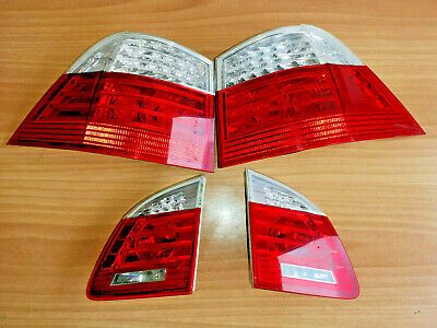 bmw e61 lci tail lights oem set led bmw e61 touring facelift tail lights set