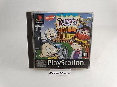 Rugrats Studio Tour Sony Playstation 1 2 3 One Ps1 Ps2 Ps3 Psx Pal Eur Completo