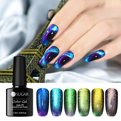 UR SUGAR 7.5ml 9D Magnetic UV Gel Polish Chameleon Colorful Nail Art Gel Varnish