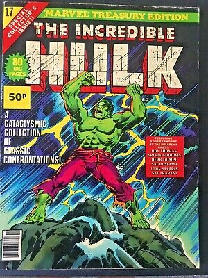 Marvel Treasury Edition. The Incredible Hulk.. Volume 1. No.17. 1978. Rare.