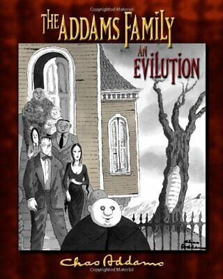 Addams Family the an Evilution New Hardcover Book