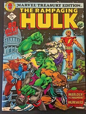 Marvel Treasury Edition. The Incredible Hulk.. Volume 1. No.24. 1979. Warlock