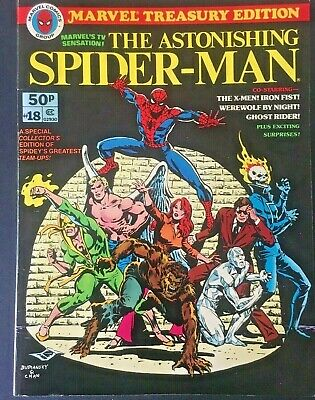 Marvel Treasury Edition. The Astonishing Spiderman. Volume 1. No.18. 1978. Rare.