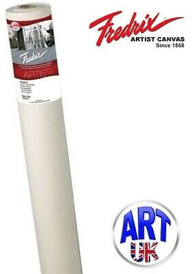 "Fredrix Artists Yankee Primed Cotton Canvas Roll 73"" x 6 yards Style 122"