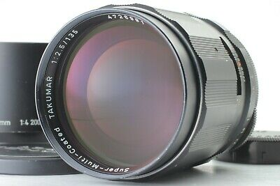 [EXC++++] Pentax SMC Takumar 135mm f/2.5 MF Lens w/ Hood for M42 Japan #P1420
