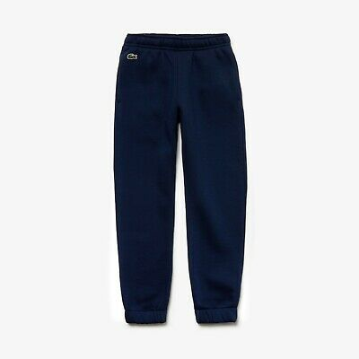 Lacoste Sport Fleece Lined Boys Girls Jogging Bottoms Pants Size Age 10 140Cm
