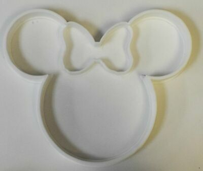 Minnie Mouse Head With Bow Disney Character Special Occasion Cookie Cutter Bakin