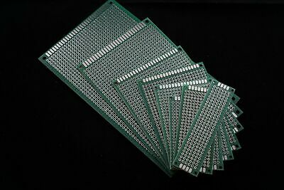 Double-Side Prototype PCB Stripboard point to point Circuit Board CHOOSE SIZE