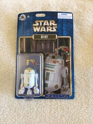 Disney Star Wars Droid Factory Christmas Edition R3-H17 Astromech Droid New NIC