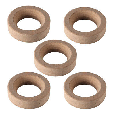 5 PCS Durable Cork Round Flask Stands Holders Rings Laboratory Article Accessory