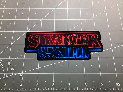 Stranger Things The Upside Down tv show sticker decal Eleven demigorgon 80s