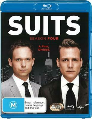 Suits: Season 4 (2014) [New Bluray]