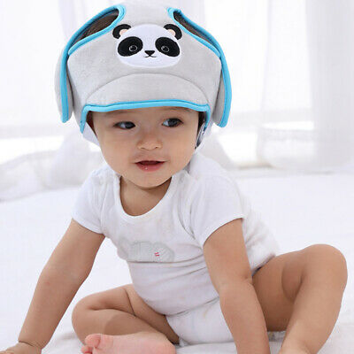 Cartoon Baby Safety Helmet Head Protection Toddler Kids Soft Headguard 8C