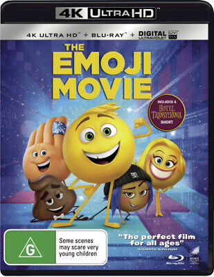 The Emoji Movie (4K Uhd/Blu-Ray/Uv) (2017) [New Bluray]