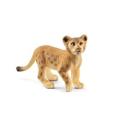 Game Figure Lion Cub Schleich 14813 Animal Figure Predator Figurine for Playing
