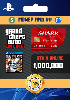 Grand Theft Auto V Online Playstation: CASH - $1,000,000 NOT A CODE