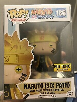 Funko POP! Animation: Naruto (Six Path) Hot Topic Exclusive w/ Pop Protector