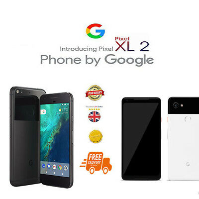 *New Google Pixel 2XL 64GB (Unlocked) Smartphone Touch Screen Android Phone 6.0""