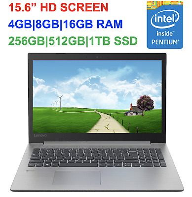"2019 Newest Lenovo 330 15.6"" Laptop Intel Pentium N5000, up to 16GB RAM &1TB SSD"