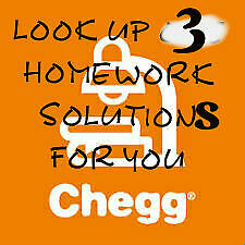 [chegg  helper]3 problems solution  to  look up help service