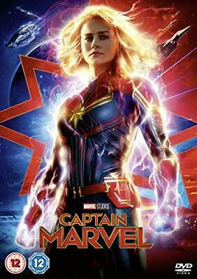Captain Marvel [DVD] [2019] - DVD  MGLN The Cheap Fast Free Post