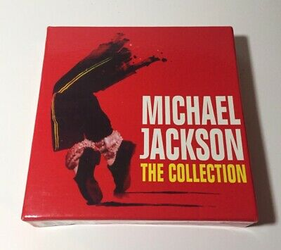 Michael Jackson Box Set 5 CD Like New Bad Thriller Dangerous No Promo