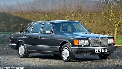 Mercedes Benz 420Sel - V8 - Only 15,000 Kms - Left Hane Drive - Classic W126