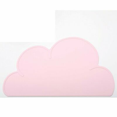 Food Grade Silicone Placemat Simple Baby Dining Plate SPOdent Table Mat PO