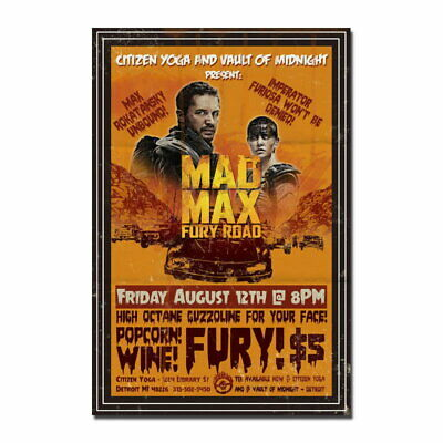 137925 Mad Max Movie Wall Poster Print AU