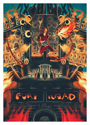 140316 New Mad Max Fury Road Wall Poster Print AU