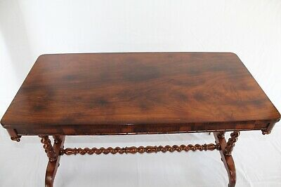 Victorian Rosewood Stretcher Table