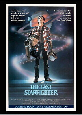 146441 The Last Star Fighter Movie Wall Poster Print AU
