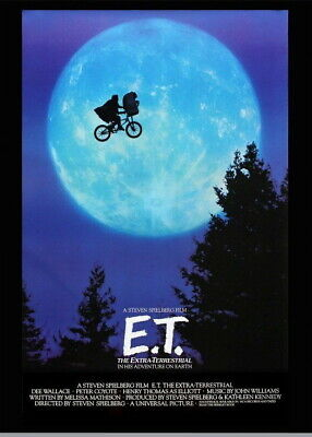 146385 E.T. Movie Wall Poster Print AU