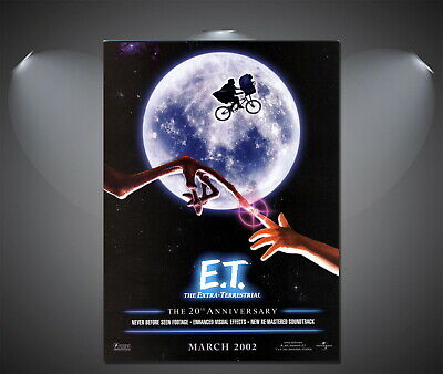 146967 E.T. ET Vintage Movie Wall Poster Print AU