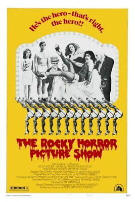 148492 Rocky Horror Picture Show The Rhps Movie Wall Poster Print AU