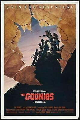 150444 Goonies The Wall Poster Print AU