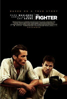 151914 Fighter The Movie Mark Wahlberg Wall Poster Print AU