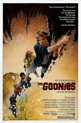152377 Goonies The Movie Wall Poster Print AU