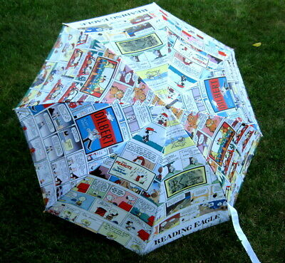 READING EAGLE - Comic Strip UMBRELLA - Promo - Collectible - RARE!