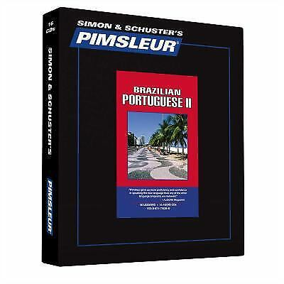 Pimsleur Portuguese (Brazilian) Level 2 CD: Learn to Speak and Understand...