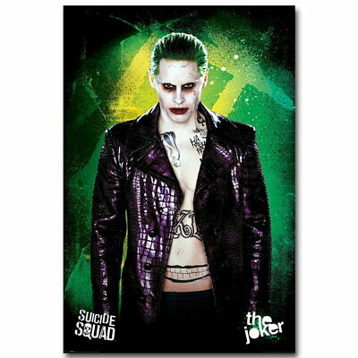 142188 Joker Suicid Squad DC Superheroes Wall Poster Print UK