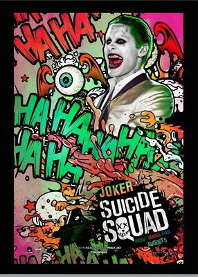 146642 Suicide Squad - Joker Wall Poster Print UK