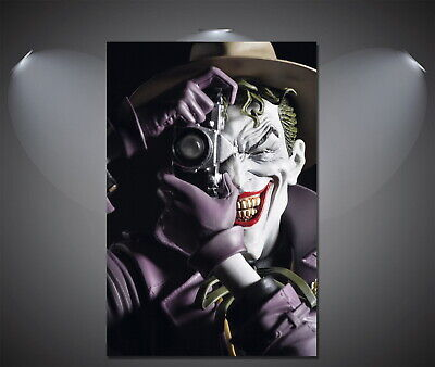 147014 The Joker Vintage Old Style Wall Poster Print UK