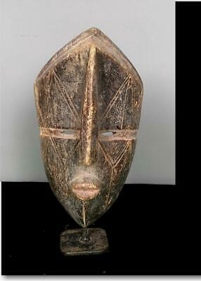 Old  Tribal Dan Bete  Mask - Coted'Ivoire BN 26