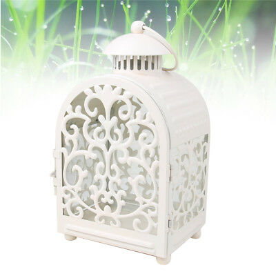 1pc Candle Lantern Moroccan Style Vintage Wrought Iron Candle Holder for Events