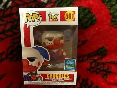Funko Pop Chuckles 2019 SDCC Shared Exclusive Toy Story w/soft protector