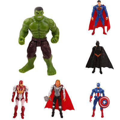 Marvel Avengers Super Hero Hulk Figurines Action Figures Toy Doll Collection