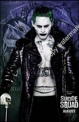 149895 Suicide Squad Movie Joker Wall Poster Print UK