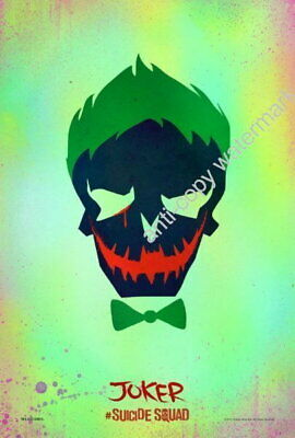151127 Joker Suicide Squad Movie Icon Wall Poster Print UK