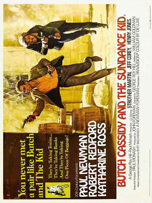 140833 BUTCH CASSIDY AND The SUNDANC KID Wall Poster Print Affiche